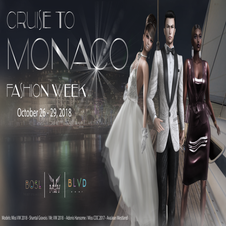 Cruising to Monaco - BOSL Fashion Week October 2018