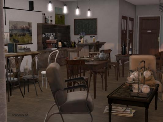Dutchie Cafe, the interior